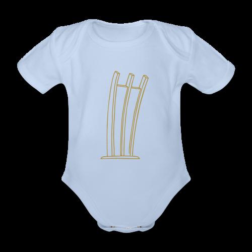 Hungerharke auf dem Platz der Luftbrücke - Baby Bio-Kurzarm-Body