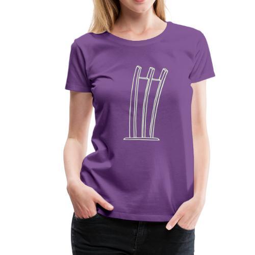 Hungerharke auf dem Platz der Luftbrücke - Frauen Premium T-Shirt