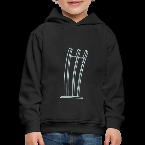 Hungerharke auf dem Platz der Luftbrücke - Kinder Premium Hoodie