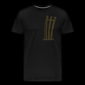 Hungerharke auf dem Platz der Luftbrücke - Männer Premium T-Shirt