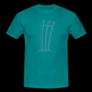 Hungerharke auf dem Platz der Luftbrücke - Männer T-Shirt