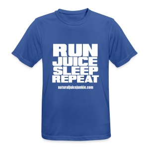 Mens Run Juice Sleep Repeat - Men's Breathable T-Shirt