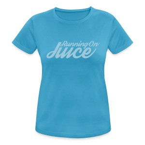 Womens Running on Juice - Women's Breathable T-Shirt