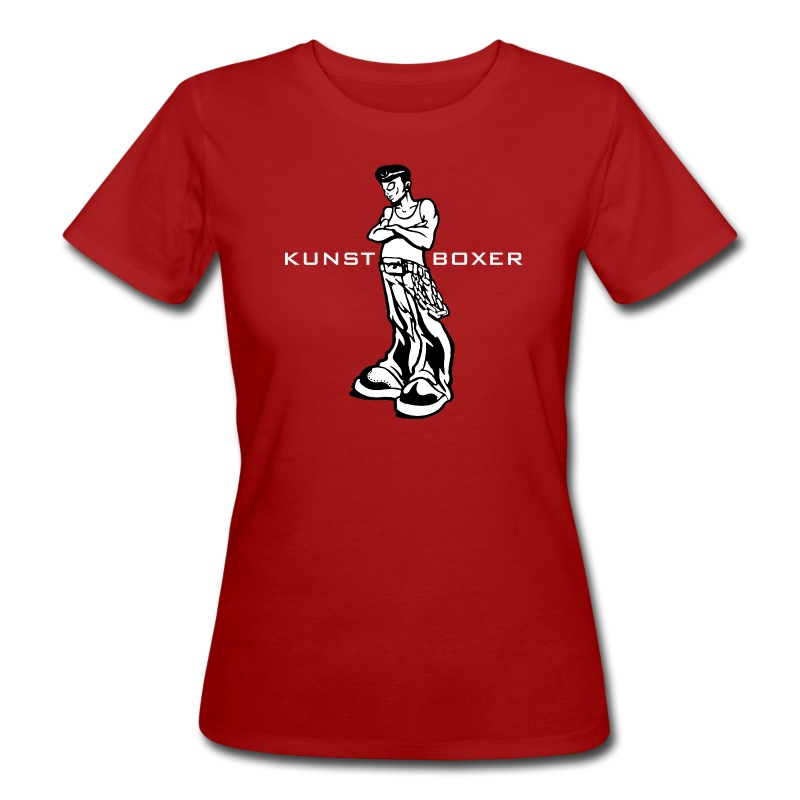 Kunstboxerin - Frauen Bio-T-Shirt