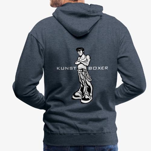Kunstboxer Hoody - Männer Premium Hoodie