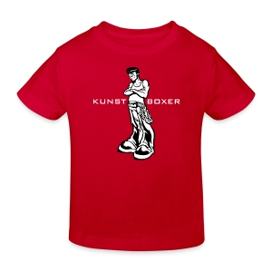 Kunstboxer Kid - Kinder Bio-T-Shirt
