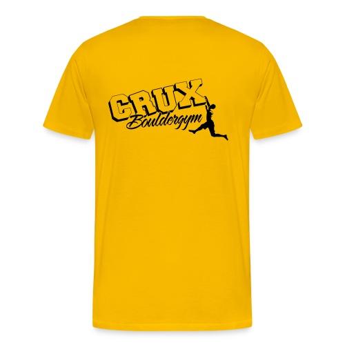 Crux Bouldergym Tee Men - Mannen Premium T-shirt