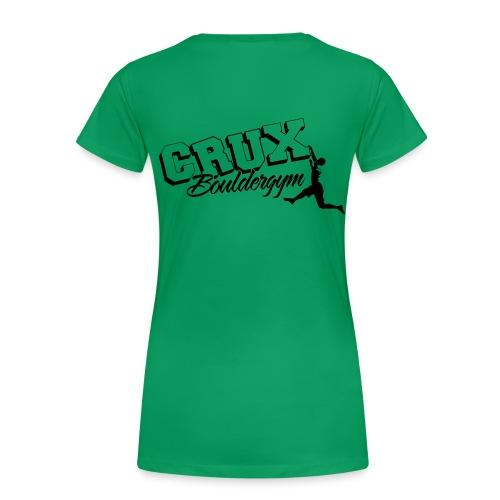 Crux Bouldergym Tee Women - Vrouwen Premium T-shirt