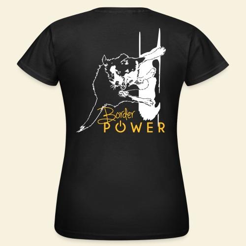 T-shirt women, Flexdruck hinten - Frauen T-Shirt