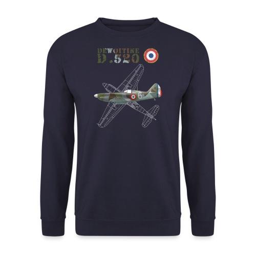 Dewoitine D.520 Man's Sweatshirt  - Men's Sweatshirt