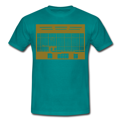 Abfertigungshalle THF (gold) - Männer T-Shirt