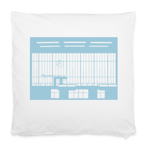 Abfertigungshalle THF - Kissenbezug 40 x 40 cm