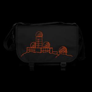 Teufelsberg (Abhörstation) (neon-orange) - Umhängetasche