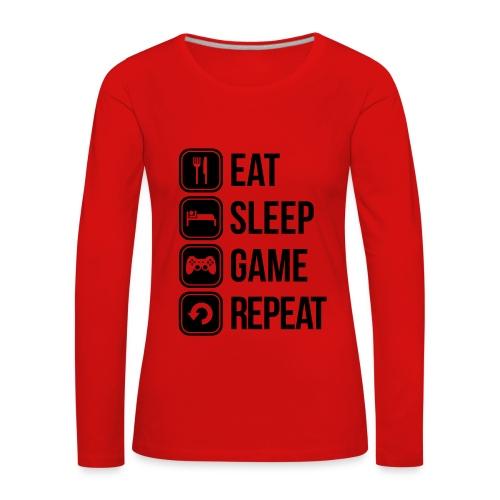 Women's Gamers Longsleeve Shirt  - Women's Premium Longsleeve Shirt