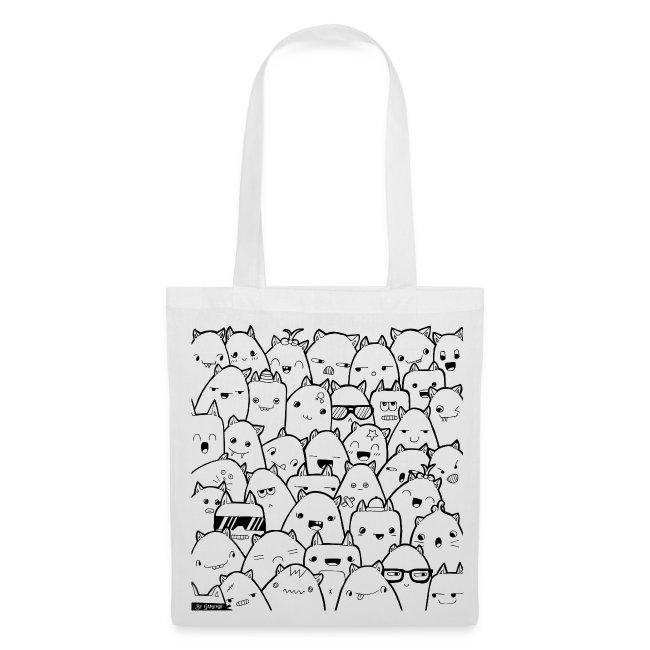 Tote Bag Les Chats