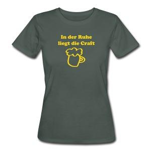 BIO Craftbeer | Frauen - Frauen Bio-T-Shirt