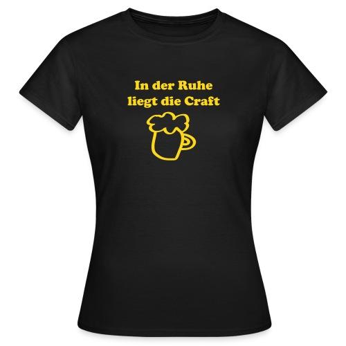 Craftbeer | Frauen - Frauen T-Shirt