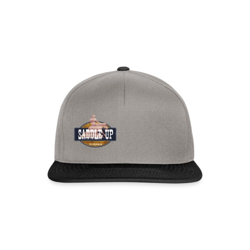 Saddle Up Snapback Cap - Snapback Cap