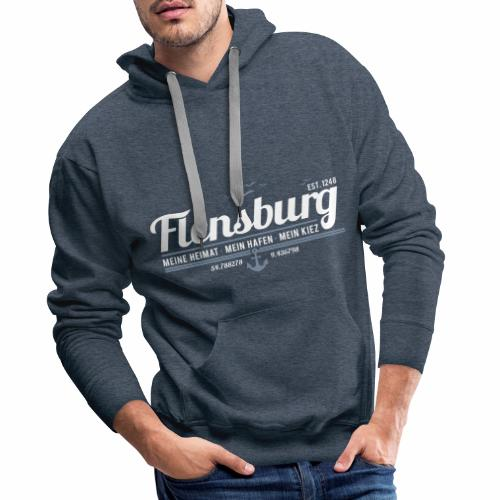 Flensburg - Herren-Hoodie - Männer Premium Hoodie