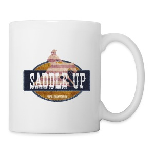 Saddle Up Coffee Cup white - Tasse