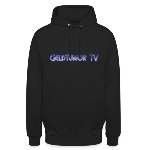 GeldTumor TV Hoodie mit Rückendruck - Unisex - Unisex Hoodie