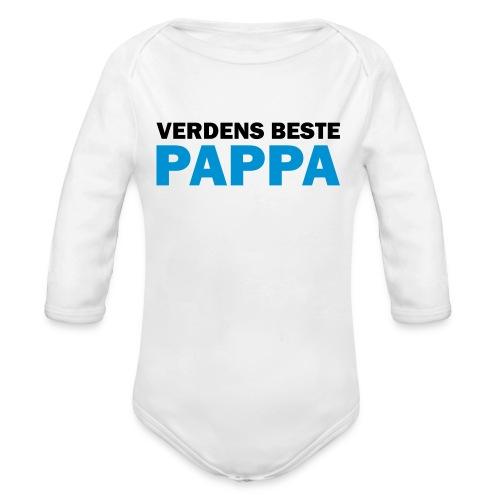Body pappa - Økologisk langermet baby-body