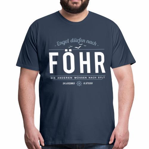 Föhr für Engel - Herren-Shirt - bis 5XL - Männer Premium T-Shirt