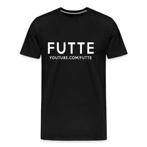 Futte Trøje (Sort & Hvid) - Herre premium T-shirt