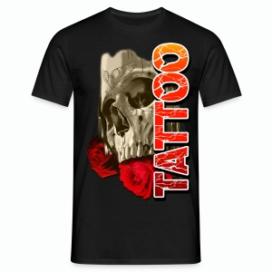 SKULL TATTOO Men's T-Shirt - Men's T-Shirt