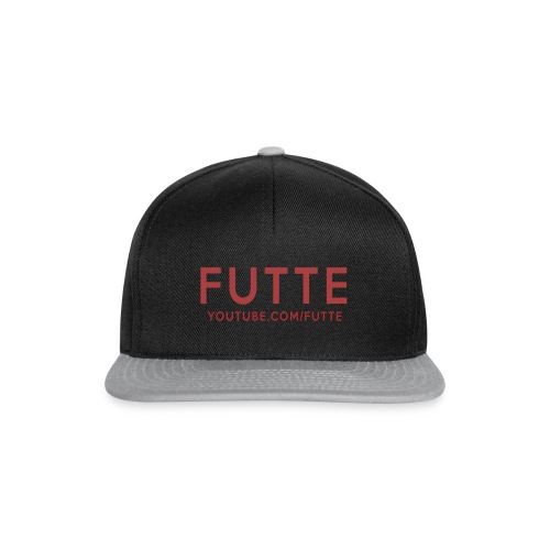 Futte Cap (Sort & Grå) - Snapback Cap