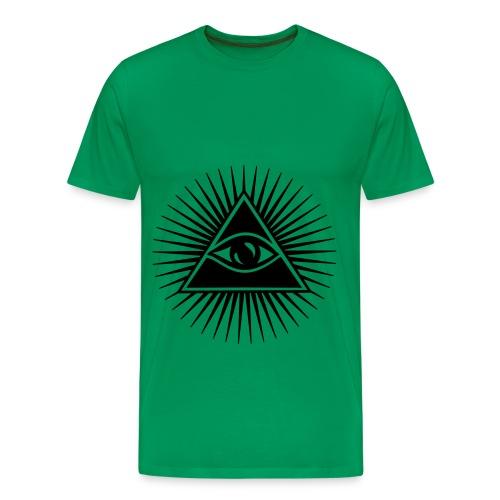 Brinker Illuminati Style - Maglietta Premium da uomo