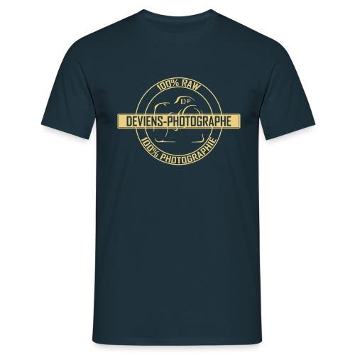 Tee shirt homme 100% DP jaune - T-shirt Homme
