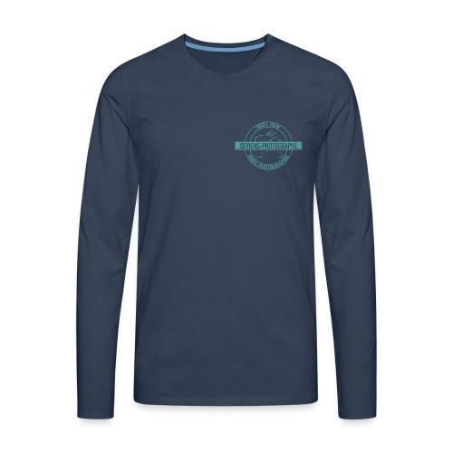 sweat shirt homme 100% DP vert 2 - T-shirt manches longues Premium Homme