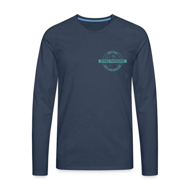 sweat shirt homme 100% DP vert 2