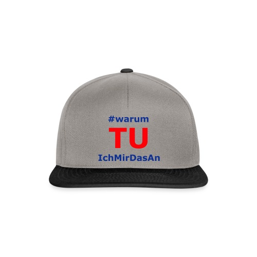 warumTUichmirdasan - Snapback - Snapback Cap