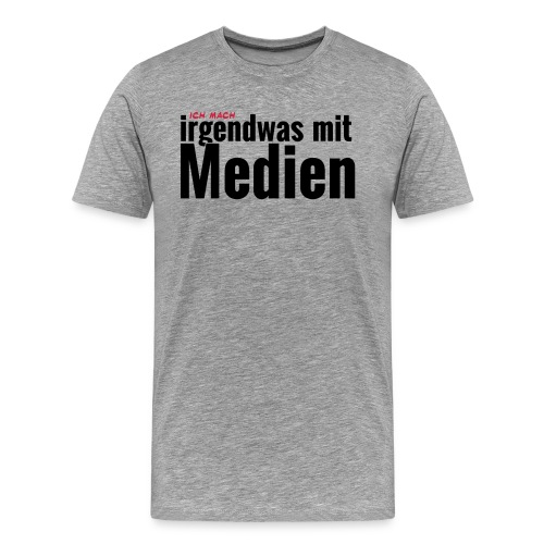 Männer: Marketing - Männer Premium T-Shirt