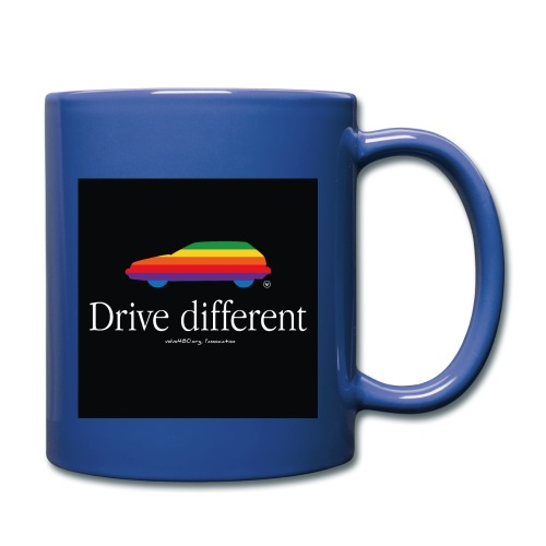 Mug couleur Drive Different - Mug uni