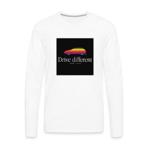 T-shirt manches longues Drive Different - T-shirt manches longues Premium Homme