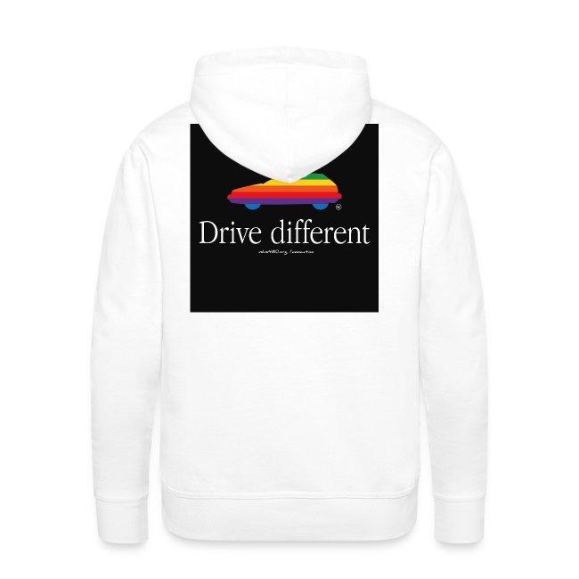 Sweat à capuche Drive Different