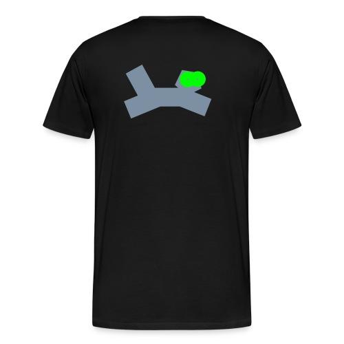 tikku-ukko raubkatze - Männer Premium T-Shirt