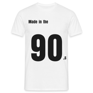 Made in the 90s - Männer T-Shirt