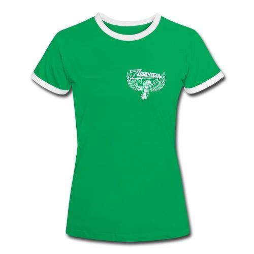 Zopilote Surfcamp Girls Shirt - Women's Ringer T-Shirt