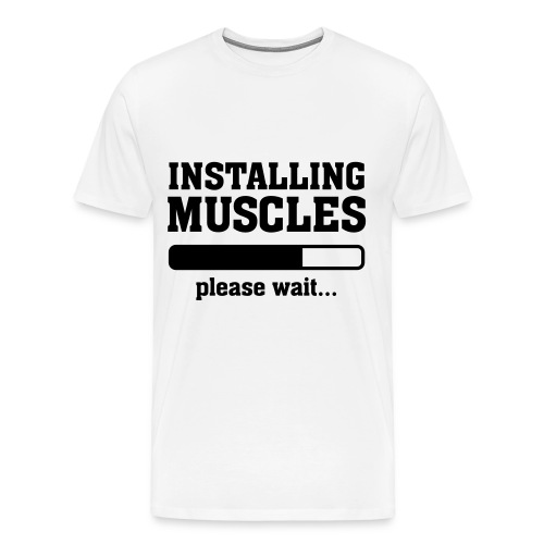 Installing Muscles Brinker Shirt - Maglietta Premium da uomo