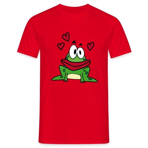 Camiseta rana enamorada - Camiseta hombre