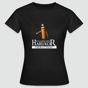 Damenshirt Ich habe den Harukor geritten dunkle Farben - Frauen T-Shirt