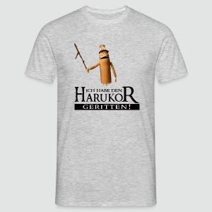 T-Shirt Ich habe den Harukor geritten helle Farben - Männer T-Shirt