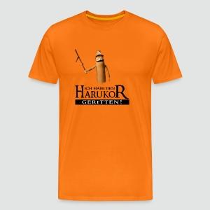Premium T-Shirt Ich habe den Harukor geritten helle Farben bis 5XL - Männer Premium T-Shirt
