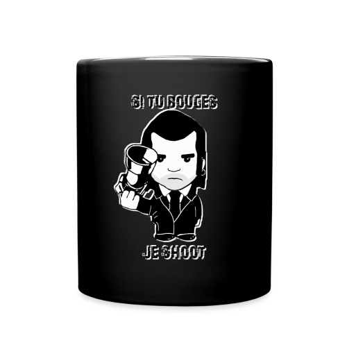 bouges, je shoot - tasse - Mug uni