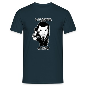 bouges, je shoot - tee shirt homme 2 - T-shirt Homme