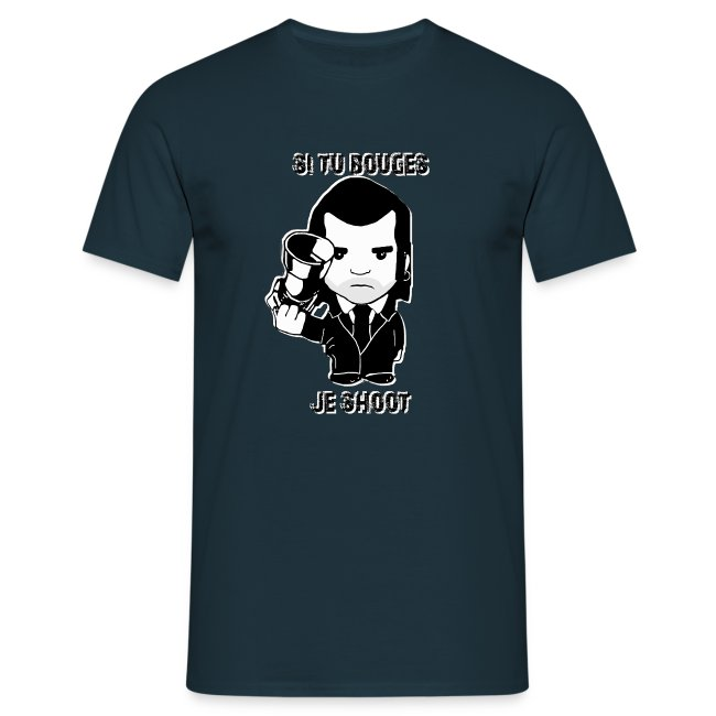 bouges, je shoot - tee shirt homme 2